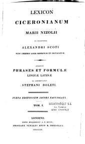 Lexicon Ciceronianum