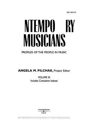 Contemporary Musicians PDF