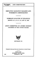 Hearings and Reports on Atomic Energy PDF