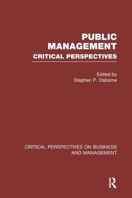 Public Management  Expanding the scope of public management