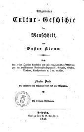 Allgemeine Cultur-Geschichte der Menschheit von Gustav Klemm: Die Staaten von Anahuac und das alte Ægypten, Band 5