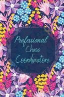 Professional Chaos Coordinator|To Do Notebook for Work|Office Notebook|To Do List Planner| Daily Planner and Notebook Combined