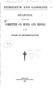 To Provide for the Uniform Selection and Purchase of Fuel to be Used in the United States: Hearings Before the Committee on Mines and Mining of the House of Representatives