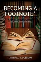 Becoming a Footnote PDF