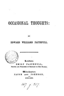 Occasional Thoughts PDF