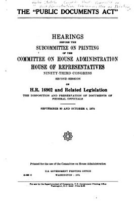 The  Public Documents Act