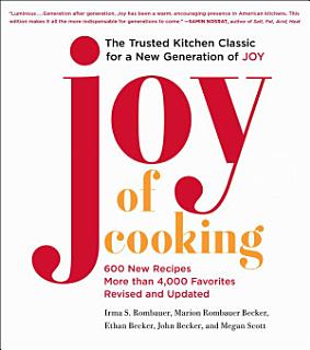 Joy of Cooking Book