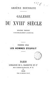 Galerie du XVIII siècle
