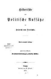 Historische und politische aufsätze: Band 2