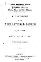 A Hand book on the International Lessons for 1880 PDF
