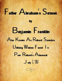 Father Abraham's Sermon