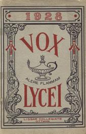 Vox Lycei 1927-1928