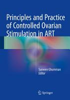 Principles and Practice of Controlled Ovarian Stimulation in ART PDF