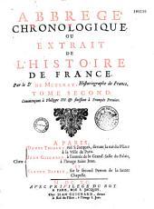 Abrégé chronologique ou extrait de l'histoire de France