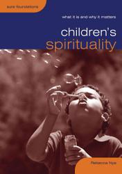 Children S Spirituality Book PDF