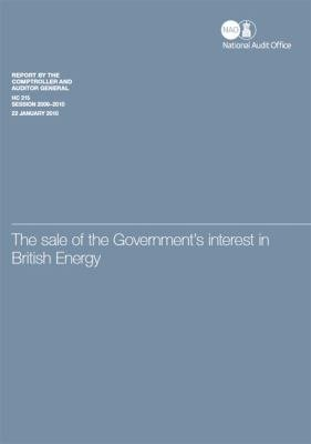 The sale of the government s interest in British Energy