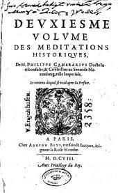 Les méditations historiques: Volume2