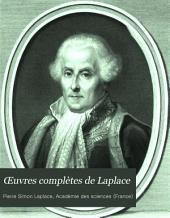 Œuvres complètes de Laplace: Traité de mécanique céleste. 4. éd., re-imprimée d'après l'édition princeps de 1798-1825. 1878-82