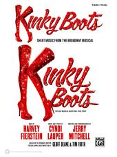 Kinky Boots: Piano/Vocal/Chords Sheet Music from the Broadway Musical