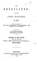 The Works of J  Fenimore Cooper       The deerslayer  1850  PDF
