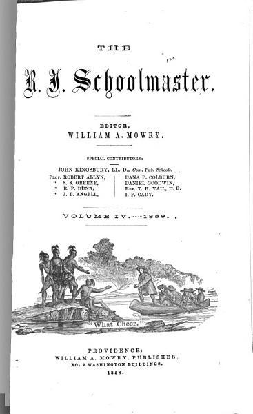 Download The R I  Schoolmaster Book