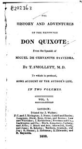 The history and adventures of the renowned Don Quixote: Volume 2