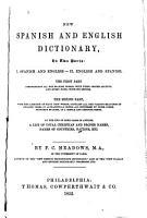 New Spanish and English Dictionary PDF