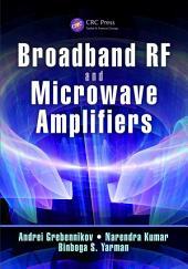 Broadband RF and Microwave Amplifiers