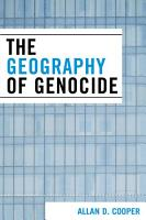 The Geography of Genocide PDF