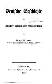 Deutsche Geschichte von der ältesten Zeit bis zur Gegenwart: Band 1