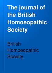 The Journal of the British Homoeopathic Society: Volume 16