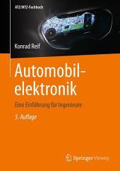 Automobilelektronik: Eine Einführung für Ingenieure, Ausgabe 5