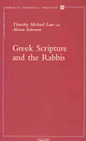 Greek Scripture and the Rabbis PDF