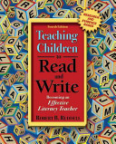 Teaching Children to Read and Write Book