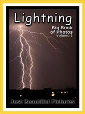 Just Lightning! vol. 1: Big Book of Lightning Storm Weather Photographs & Pictures
