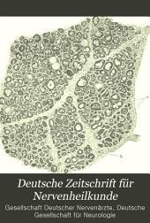 Deutsche Zeitschrift für Nervenheilkunde: Band 9