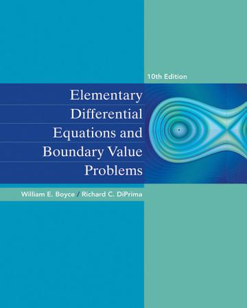 Elementary Differential Equations and Boundary Value Problems  10th Edition PDF