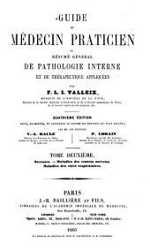 Guide du médecin praticien: ou, résumé général de pathologie interne et de thérapeutique appliquées, Volume2