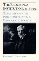 The Brookings Institution, 1916-1952