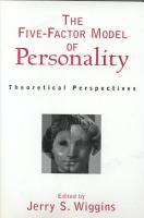 The Five factor Model of Personality PDF