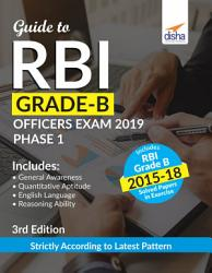 Guide To Rbi Grade B Officers Exam 2019 Phase 1 3rd Edition Book PDF