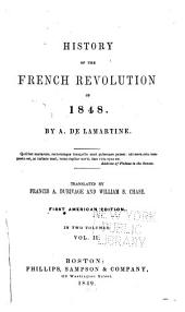 History of the French Revolution of 1848: Volume 2