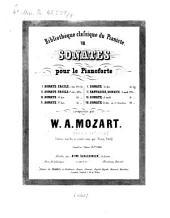 8 Sonates pour le piano: Volume 8