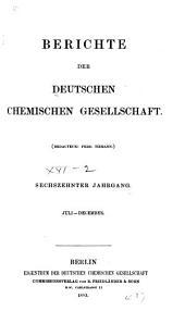 Berichte der Deutschen Chemischen Gesellschaft: Band 16,Seiten 1695-3320