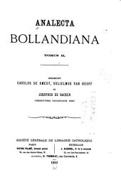 Analecta bollandiana: Volume 2
