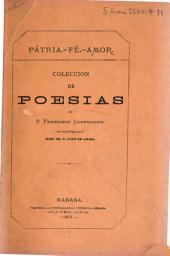 Pátria.--Fé.--Amor: Coleccion de poesias, castellanas y catalanas