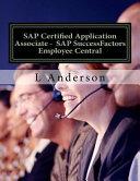 Sap Certified Application Associate PDF