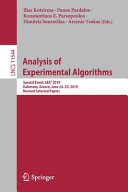 Analysis of Experimental Algorithms