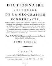 Dictionnaire universel de la geographie commercante. (etc.)