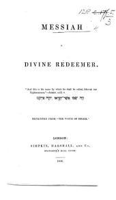 Messiah a divine Redeemer